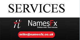 Namesfx website services